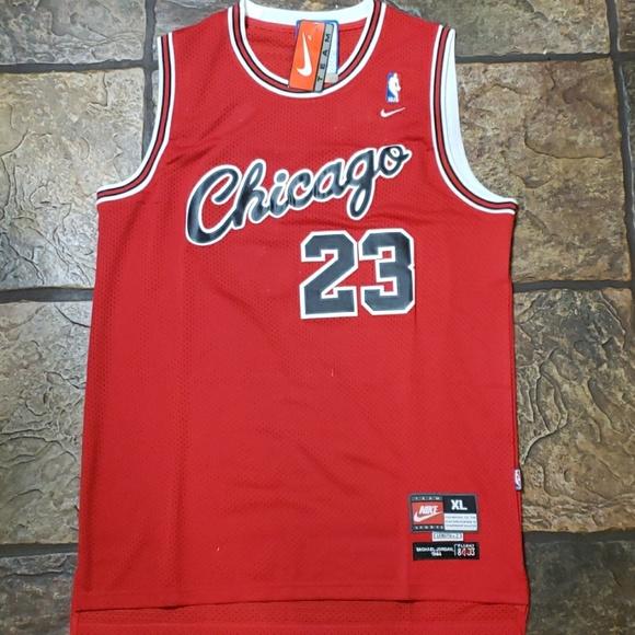 fbac0e9846d Michael Jordan - Chicago Bulls Rookie Jersey
